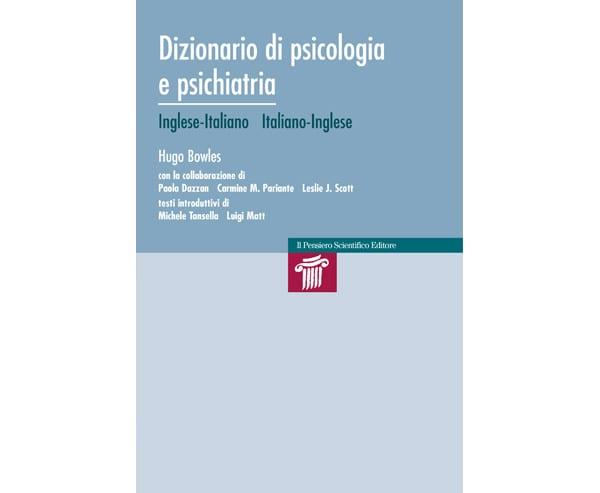 dizionario psicologia psichiatria