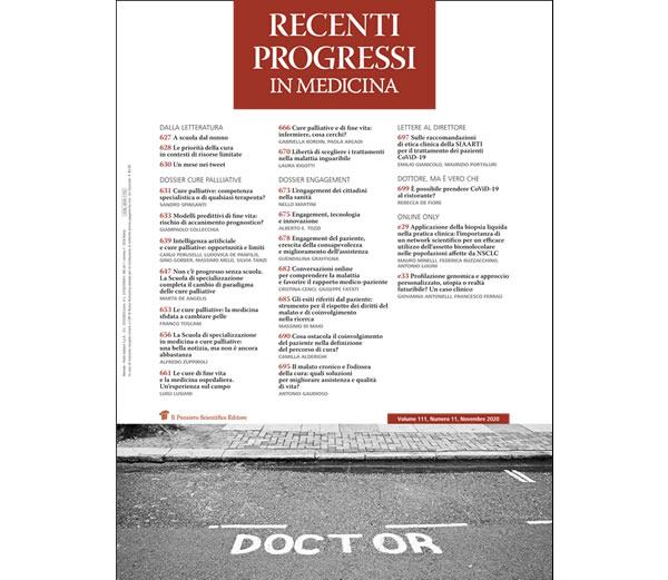 recenti progressi in medicina